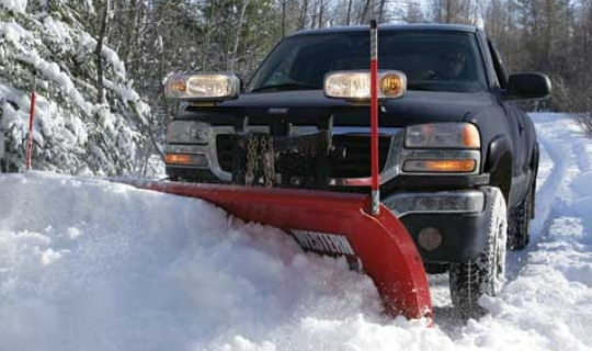 Western, Meyer, Fisher snow plow and salter service New Jersey, New York